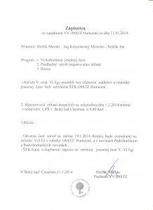 zapisnica 11.01.2014